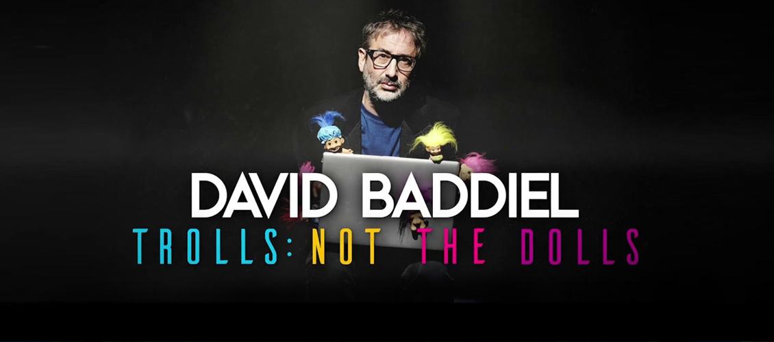 David Baddiel returns